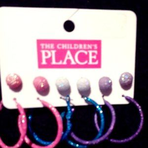 The Children's Place Earring Set of 6 pcs